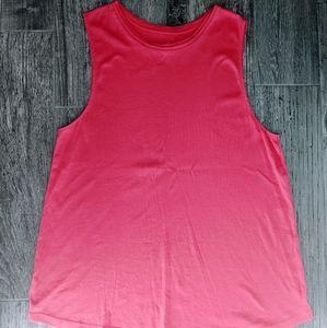 5/$25 J. Jill Perfect Pima Shirtail Sleeveless  XL